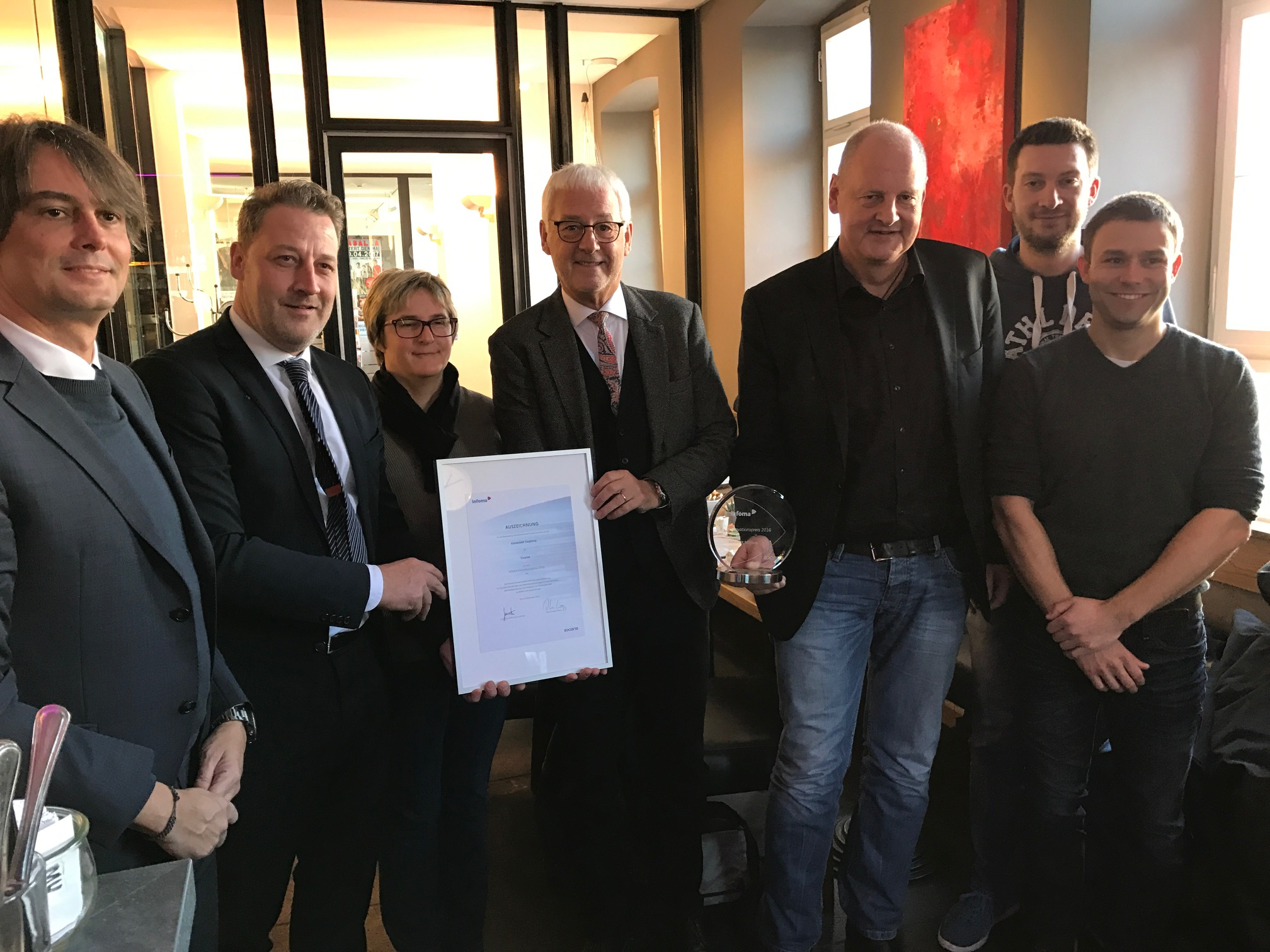 City of Siegburg: Finalist for the Axians Infoma Innovation Prize with electronic payment processes