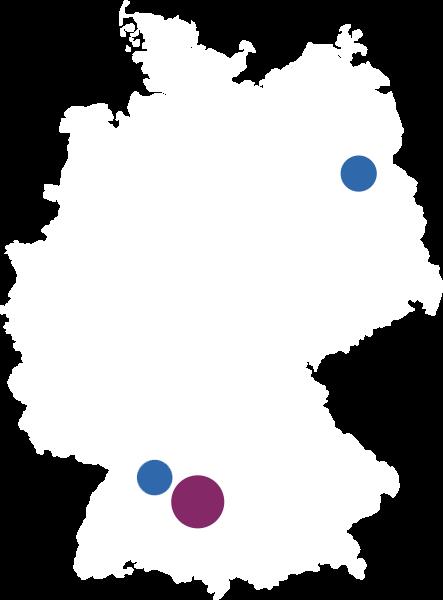 Standortkarte Axians Infoma GmbH